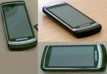 Samsung Acme i8910, scheda tecnica
