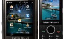 Samsung Armani con Windows Mobile 6.5