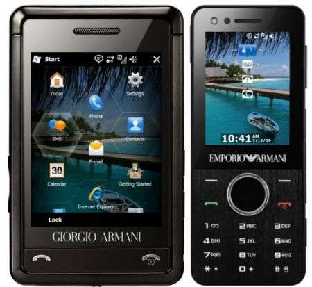 Samsung Armani con Windows Mobile 6.5