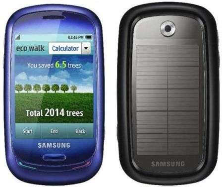Samsung Blue Earth a energia solare