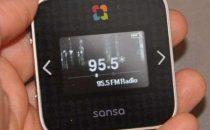 Sansa slotRadio con 1000 canzoni incluse
