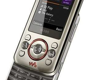 Sony Ericsson W395 ufficiale