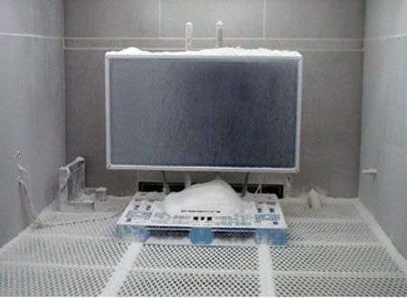 TV Sony GXD L65H1 non ha paura del freddo!