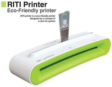 Stampante RITI: il caffè diventa inchiostro