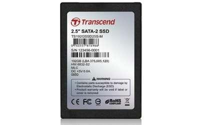 SSD Transcend 192GB 2.5″ SATA II: velocissimo!