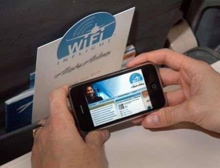 Alaska Airlines: Internet Wifi a bordo
