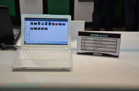 Netbook ASRock MultiBook G12