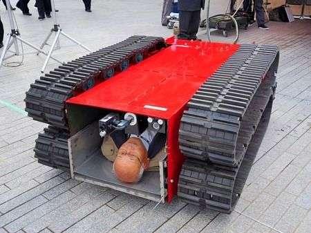 Barella robotica a cingoli