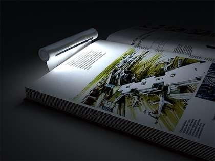 Bookmarklamp: segnalibro e lampada