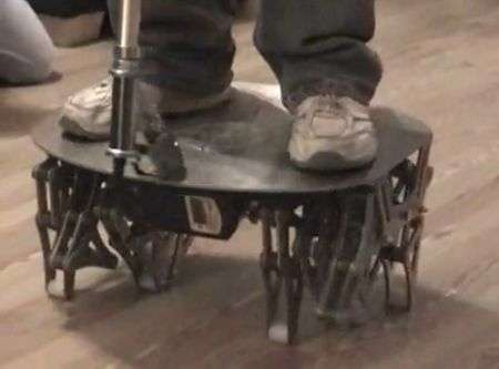 Cajun Crawler: Segway con i piedi!