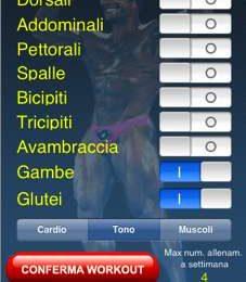 egoFitness per iPhone: allenatore da taschino!