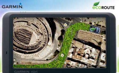 Garmin EcoRoute: GPS ecologico