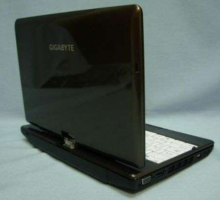 Gigabyte M1028 CafeBook tablet touch