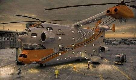 Hotelicopter: elicottero hotel di lusso