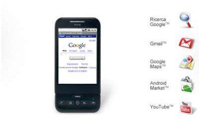 HTC Dream G1 Android Tim prezzo e scheda