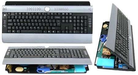 Keyboard Organizer: tastiera personalizzabile con cassetto