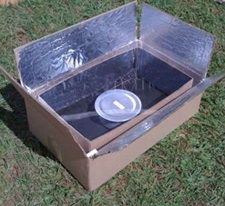 Cucina solare fai da te