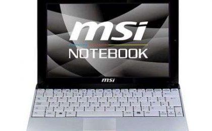 Netbook MSI Wind U123
