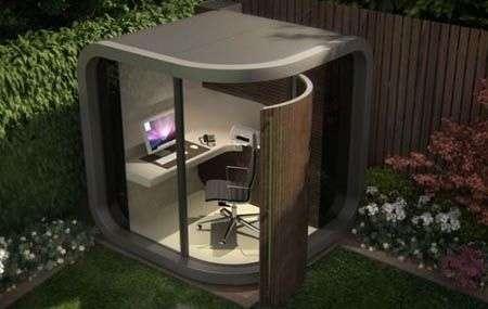 OfficePod: l'ufficio a casa tua