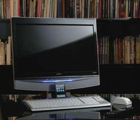 PC Onkyo E702A9 Sotec con Blu Ray