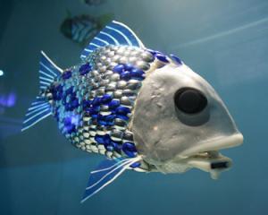 pesci robot inquinamento