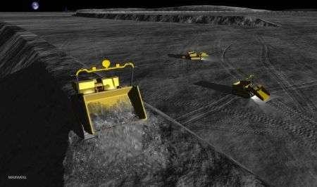 Luna: robot prepareranno basi per le missioni