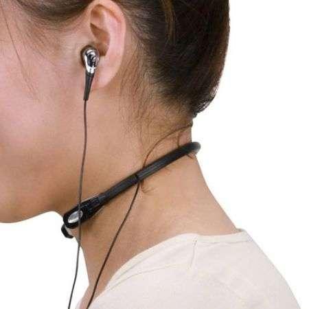 Sanwa Throat Microphone: microfono da gola