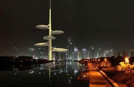 Dubai: torri per irrigare con acqua salata