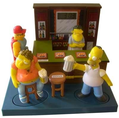 Simpson Sveglia Taverna di Boe (Moe)