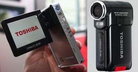 Videocamere HD Toshiba Pro S10 e P10