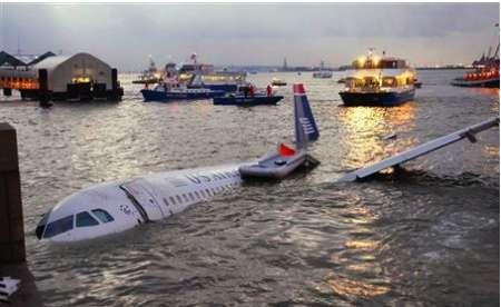 US Airways Flight 1549: GPS e video 3D