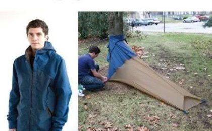 Vessel: da giubbotto a tenda