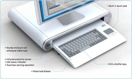 Vioguard Keyboard: tastiera ai raggi UV autoigienizzante