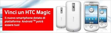 Vodafone HTC Magic Android: prezzo 449 euro