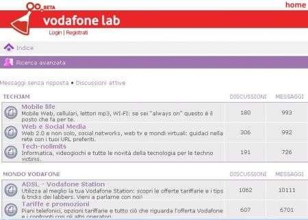 Vodafone Lab: parlare di tecnologia è cool