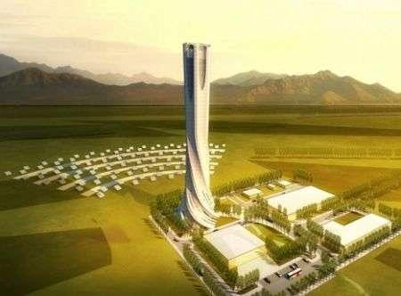 Cina e la centrale solare di Dahan