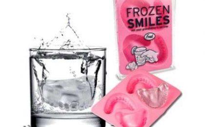 Una dentiera di ghiaccio