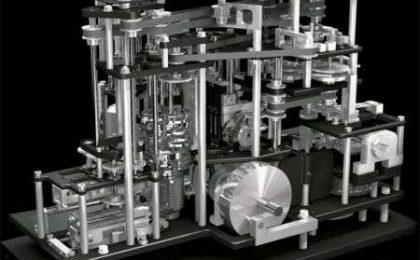 Orologio Machine à Ecrire le Temps