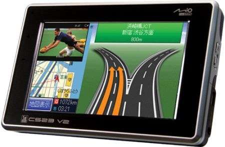 Mitac Mio C523 v2 GPS per Moto
