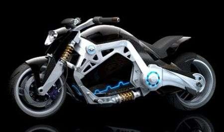 Moto Elettrica BlueShift da record