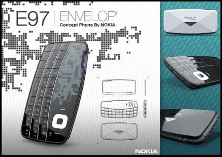 Nokia E97 con schermo rimovibile