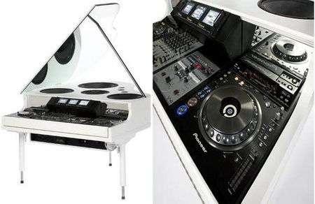 Baby Grand Master, il pianoforte per DJ