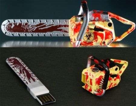 Motosega USB Resident Evil