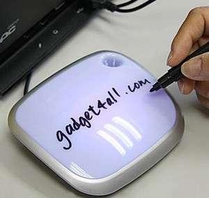 USB Moody Hub: prendinote da scrivania