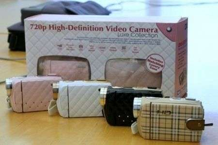 Videocamere DXG Chanel e Burberry!