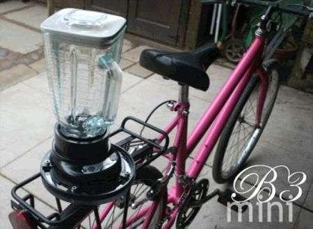 Bicicletta frullatore?
