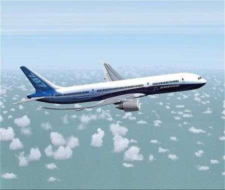 Boeing B-787 Dreamliner in fibra di carbonio