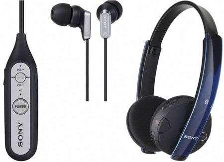 Cuffie Sony DR-BT100CX e DR-BT101