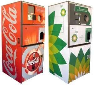 Distributori inversi: consegni lattine, prendi soldi