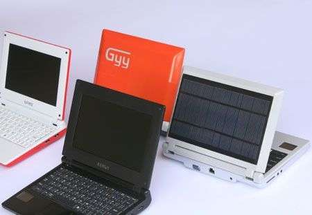 Netbook iUnika Solar a energia solare